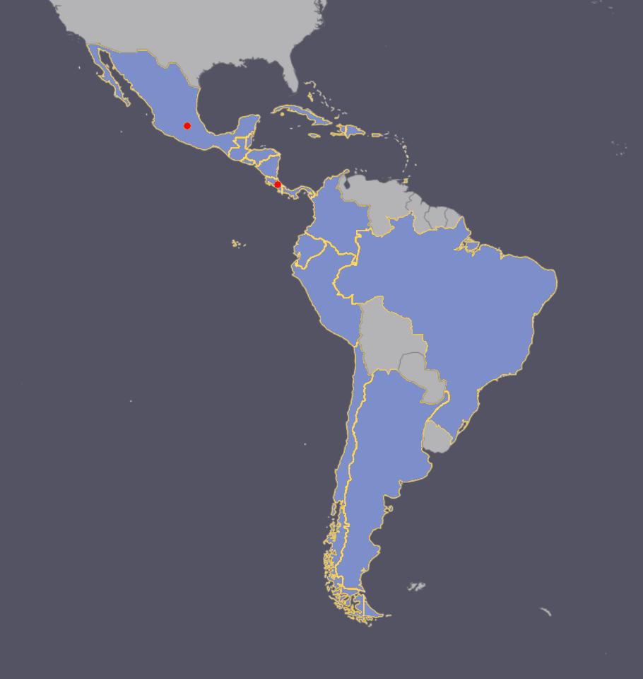 EVACON Network Map